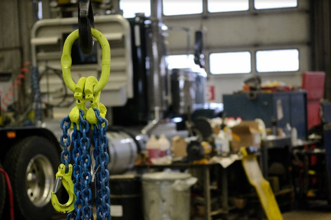 Overhead Lifting Chain Assemblies Genalco