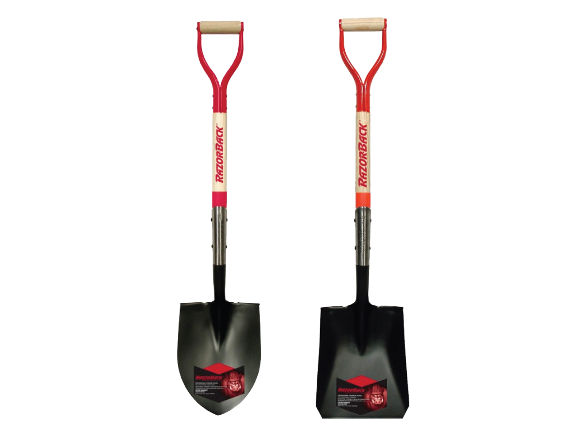 Razorback Shovels Contractor Supplies Genalco